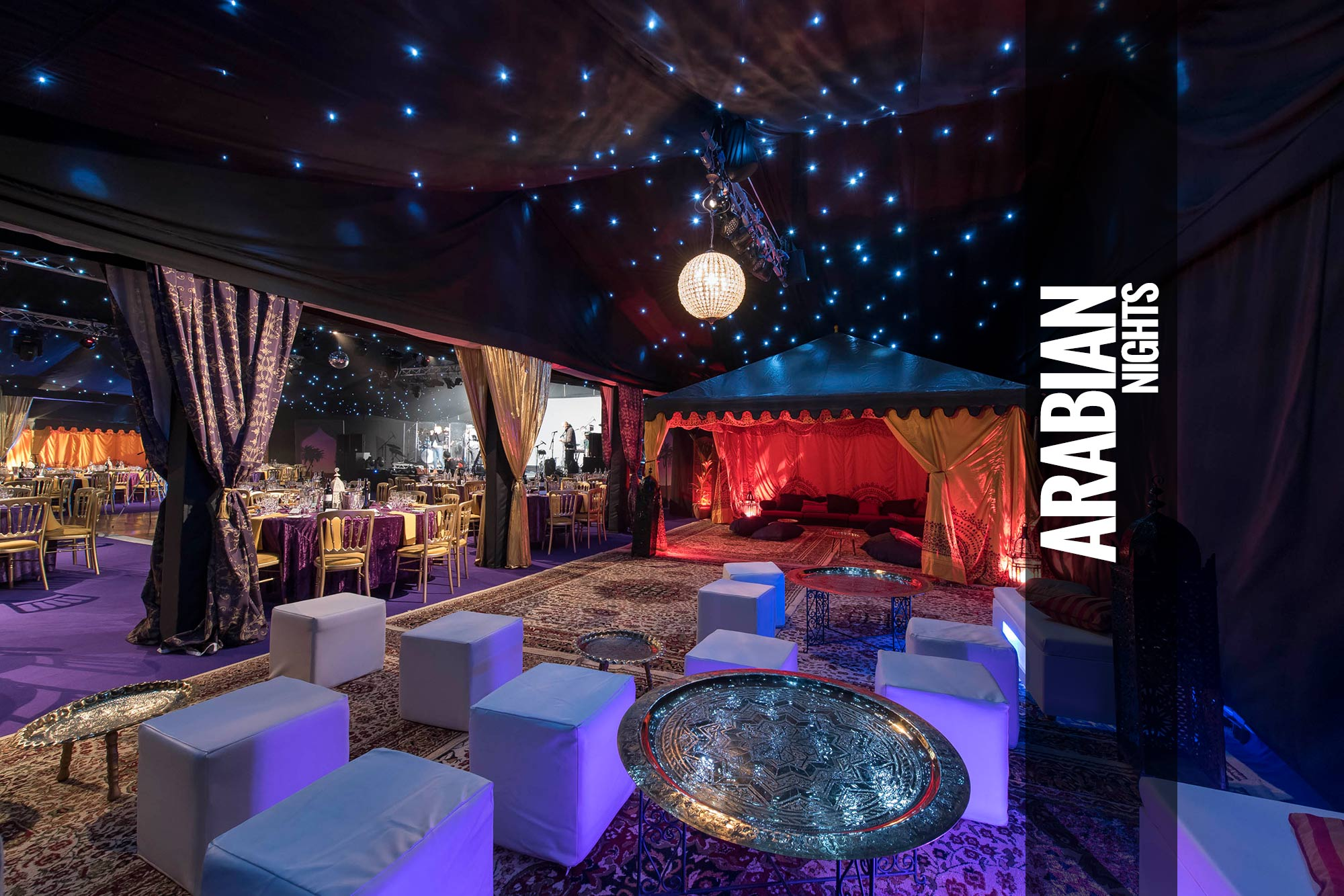 Arabian Nights Themed Events & Parties | Moroccan Theme