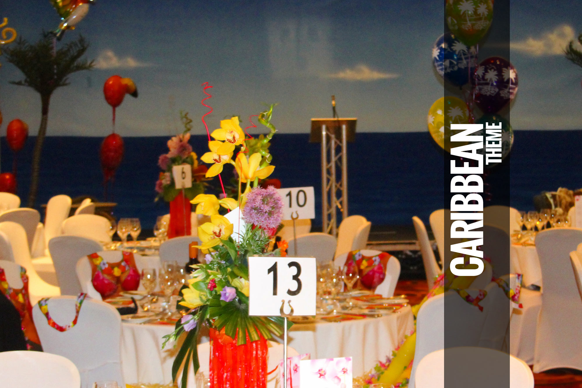 Caribbean Themed Events Parties Tropical Beach Party