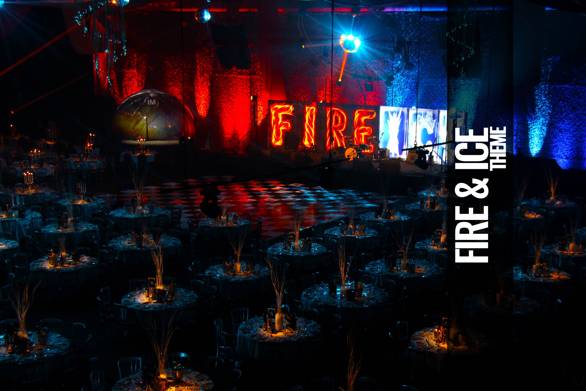 Fire and Ice Party Themed Events