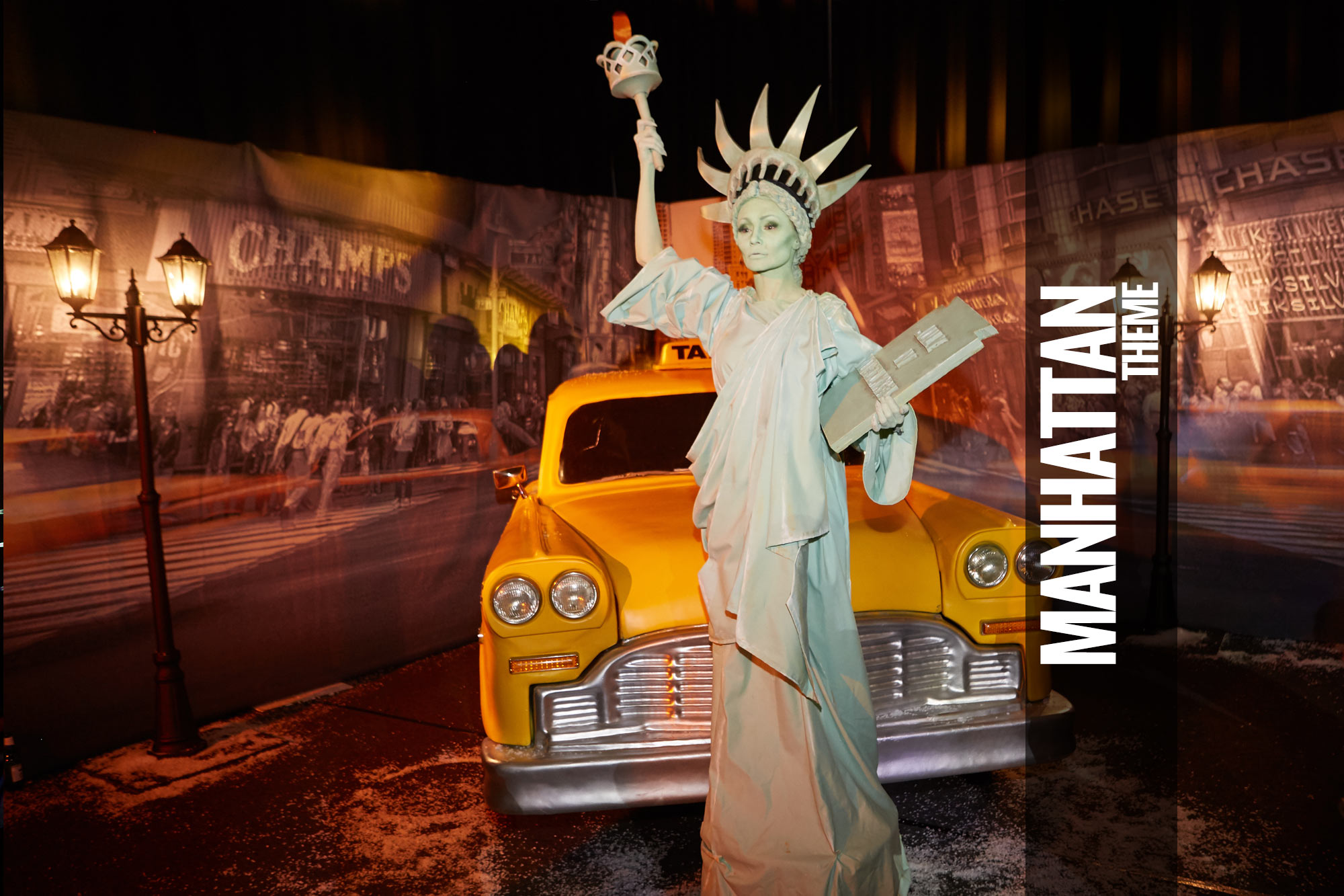 Manhattan Party Themed Events