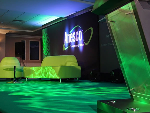 Bespoke Conference Set and Evening Team Build