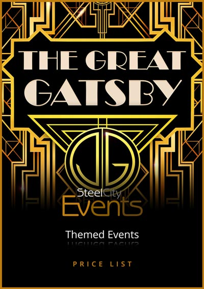 Great Gatsby Prop Hire Price List