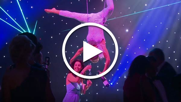 Stunning Champagne Chandelier Act