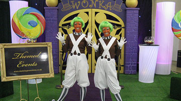Willy Wonka's Chocolate Factory Party Themed Events
