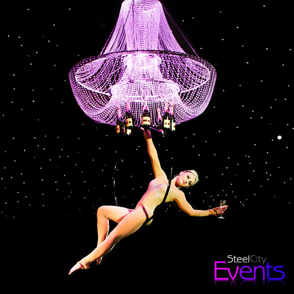 Champagne Chandelier Act