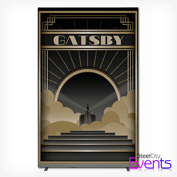 Great Gatsby Feature Backdrop