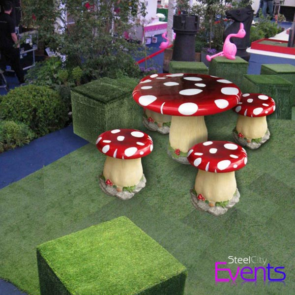 Toadstool Seating